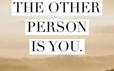 Recognize the other person is you || Sutra I